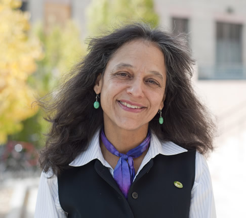Nalini Nadkarni, a forest ecologist, directs the University's Center for Science and Mathematics Education.