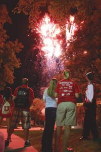 Homecoming Fireworks