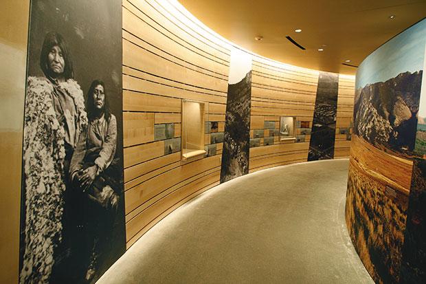 Hallway in the NHMU