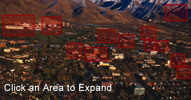 Campus Aerial mapped