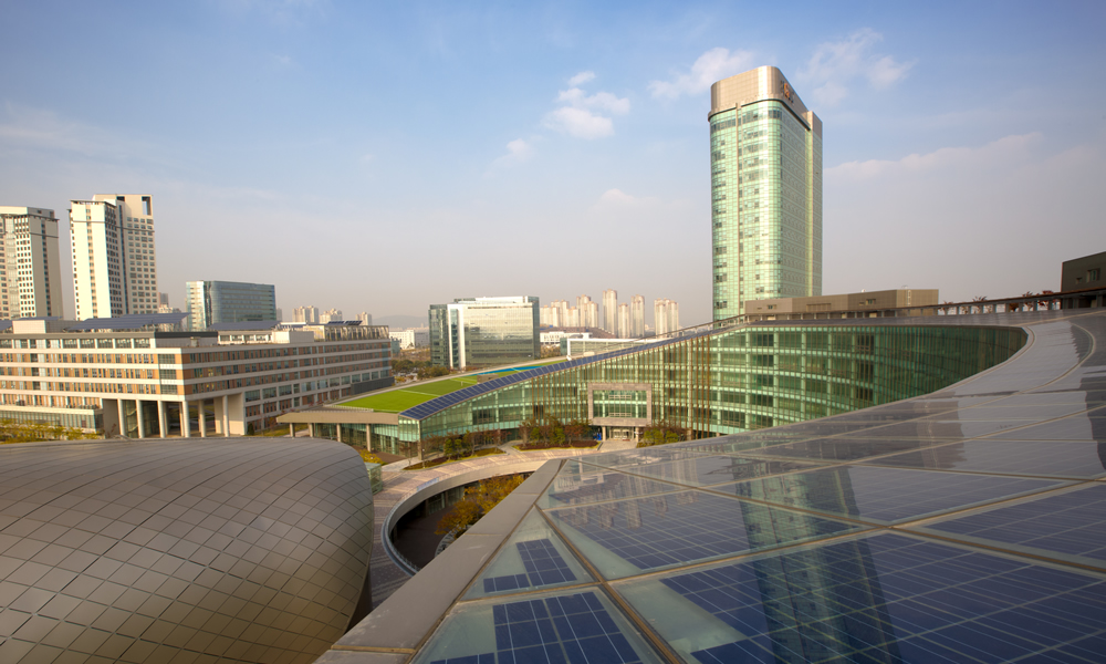 The U's international efforts include being a partner in a new satellite campus in Songdo, South Korea.
