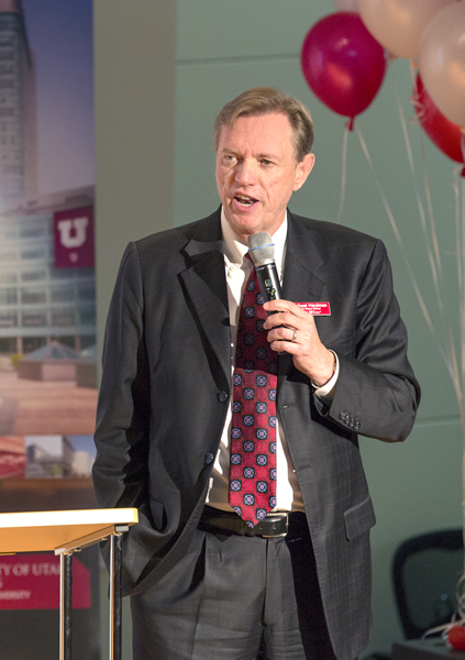 U alum Michael Hardman is the University of Utah's new chief global officer.