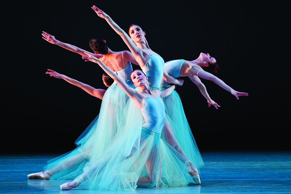 Photo by Luke Isley, courtesy Ballet West. Choreography © George Balanchine Trust