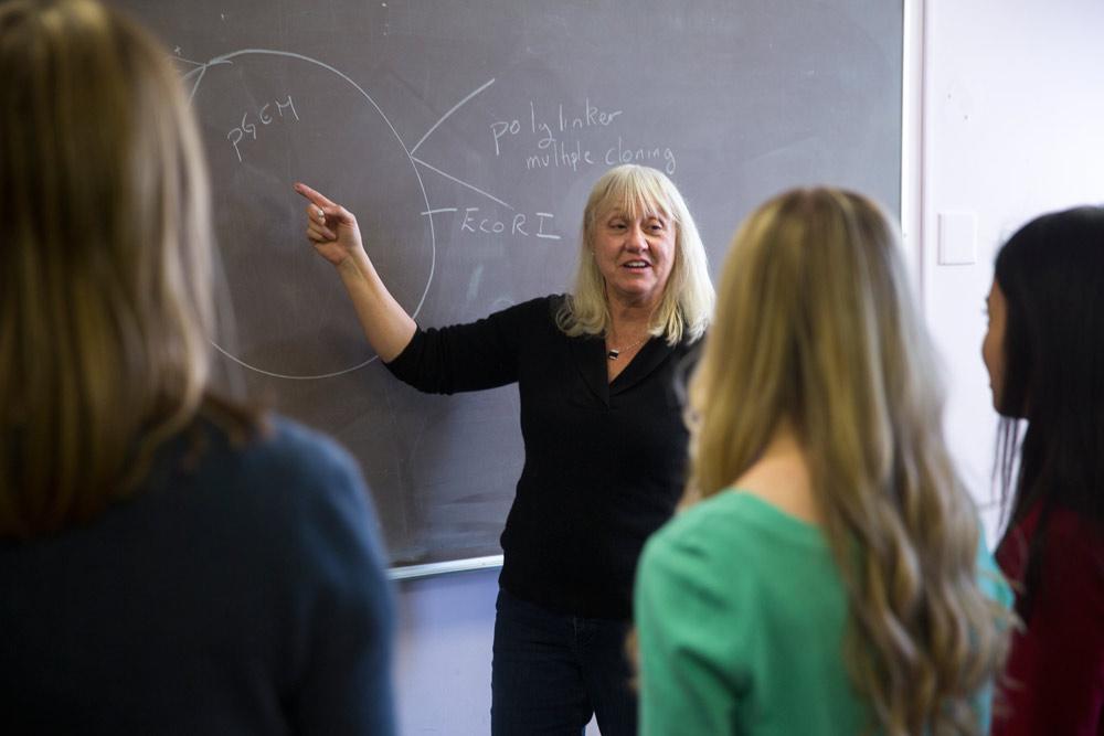 U biology professor Rosemary Gray has been the ACCESS program's director since 2006.