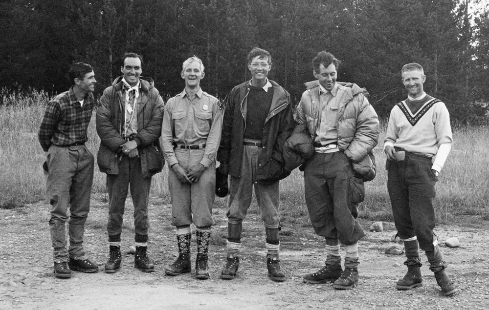 From left, Ted Wilson, Pete Sinclair, Ralph Tingey, Mike Ermarth, Rick Reese, and Bob Irvine, in a photo taken in 1967, the year of their daring rescue.