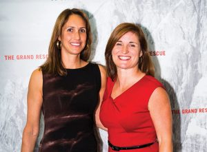 U alum Jenny Wilson, right, worked with producer and director Meredith Lavitt on the new film.