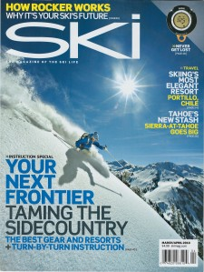 Gleich was featured on this 2010 SKI magazine cover.
