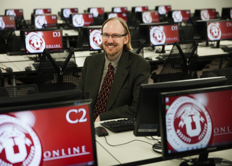 Cory Stokes, the University of Utah's associate dean of Undergraduate Studies, was appointed last July to be director of the U's online education initiative.