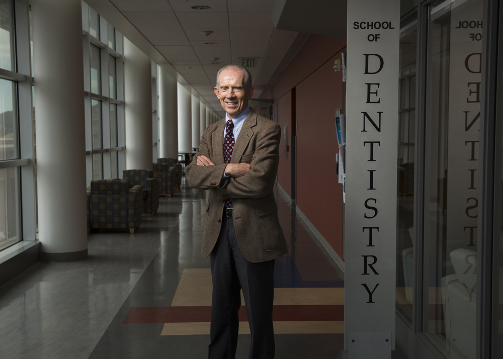 Glen R. Hanson, the School of Dentistry's associate dean of research, says the curriculum encourages dental research and will help broaden opportunities for U students and benefit the community.