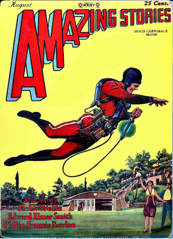 "The sound ""zap"" was coined in Philip Francis Nowlan's 1928 story Armageddon 2419 A.D., published in Amazing Stories."