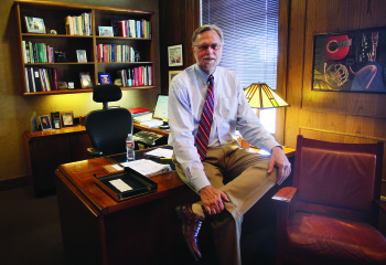 Fred Esplin, the U's vice president of institutional advancement.