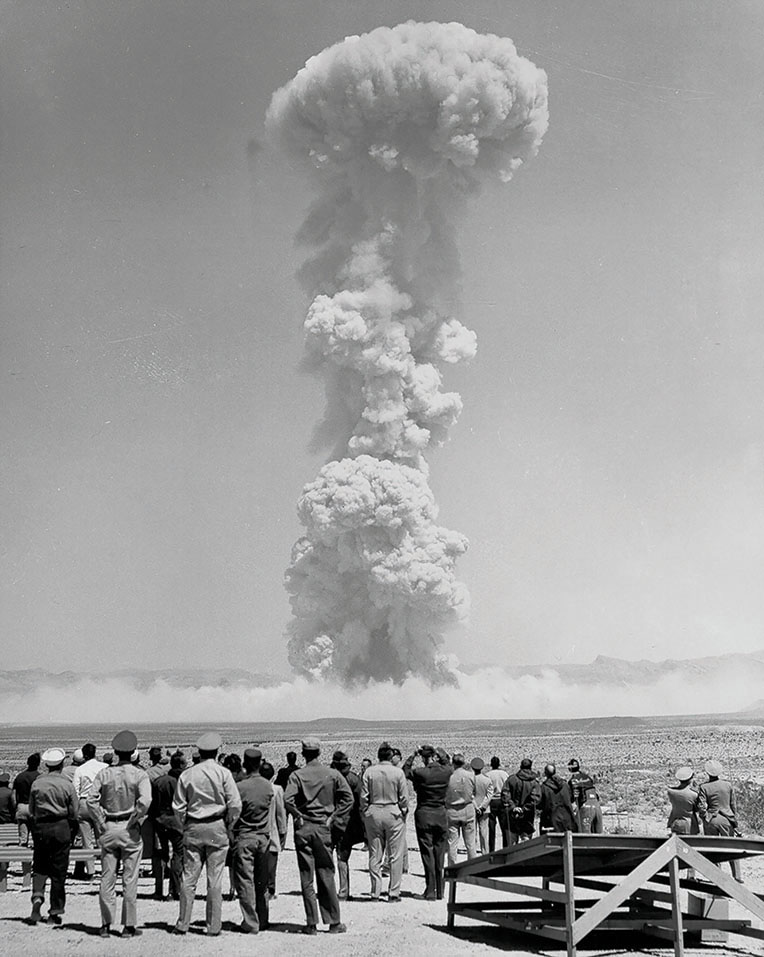 Operation Teapot, 1955. Photo courtesy the National Nuclear Security Administration/Nevada Test Site Office.